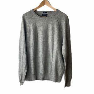 J Crew Jeans Slim rugged cotton sweater Grey Large